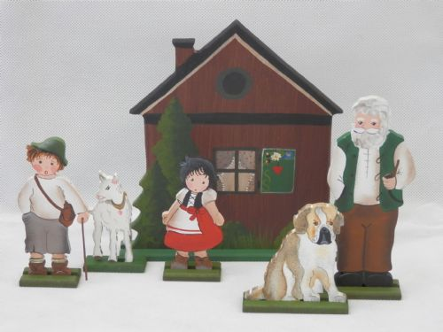 Alpine Family and House - Set of 6
